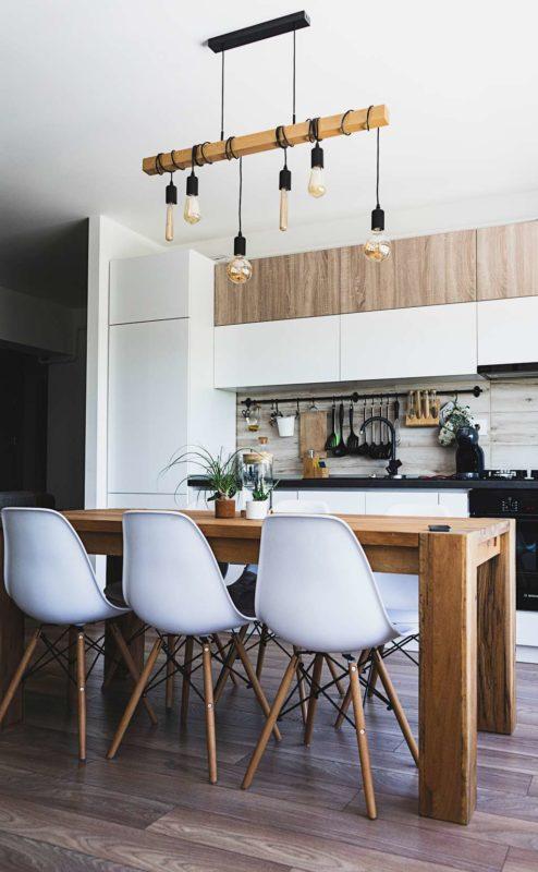 cocina estilo industrial moderno