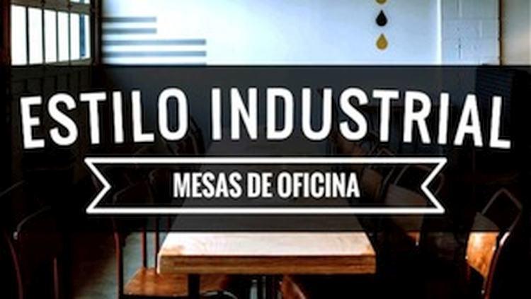 Mesas de Oficina Estilo Industrial