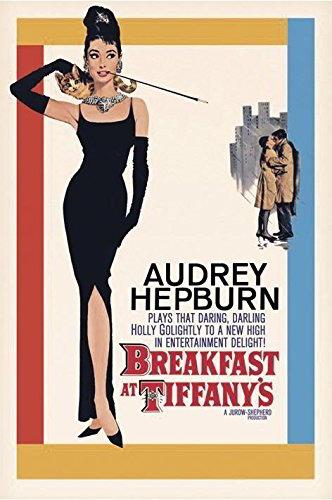Póster de Audrey Hepburn Desayuno con Diamantes