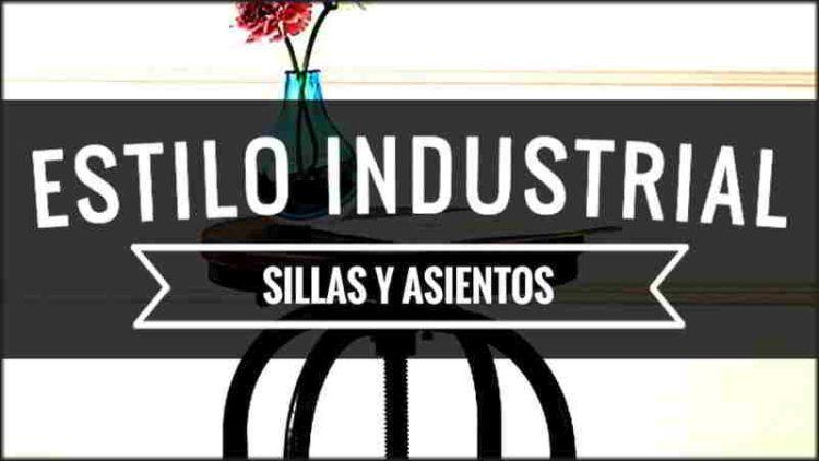 Sillas Asientos Estilo Industrial
